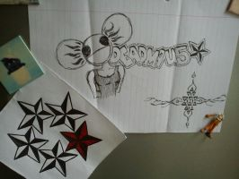 Deadmau5 and Stars by fionachitauro