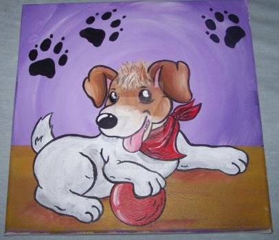 Jack Russell- Dog by Cathy86