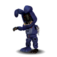 Withered Bonnie Accurate by YinyangGio1987