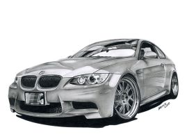 BMW E 92 M3 by narvis