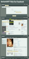 deviantART Skin For Facebook by ipholio