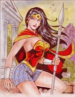 Wonder Woman (#19) by Rodel Martin by VMIFerrari