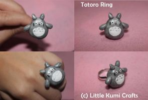 Totoro Ring by lkcrafts