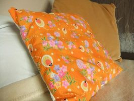 Colourful Cushion Covers by sewn-by-honeybirds