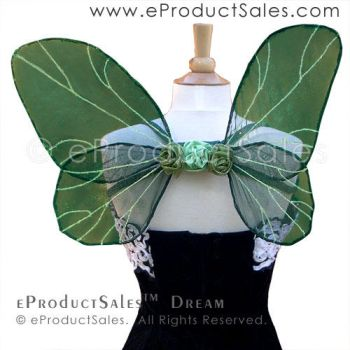 eProductSales Dream Faery Wings for Costume Art by eProductSales