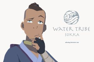 Sokka the Wise by mbuntag