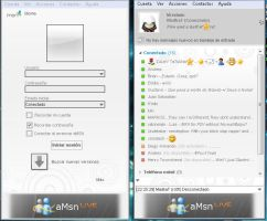 aMsn - Games for Windows Live 2 skin by MadkaT182