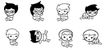 Homestuck Babies by Seinithil