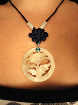 Endless Knot Necklace by CraftyRisa