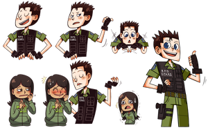 Misc. from my 'Ask Chris Redfield Blog' on Tumblr by Resident-evil-STARS