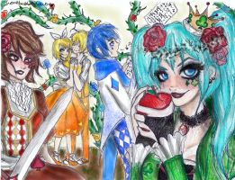 alice human sacrifice by NENEBUBBLEELOVER
