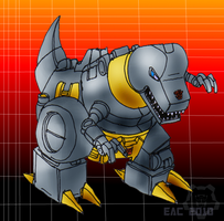 TF-G1 Style Grimlock by rosa-pegasus