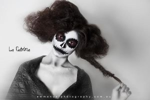 La Catrina - Day of the Dead by Amber-jade16