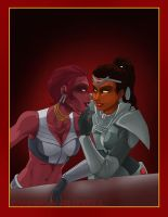 SWTOR - Zhavryth and Ifrita by shinga