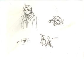 Sketches of Ed by Monaki