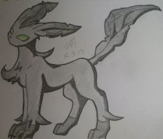 Leafeon by SapphireMoonDrop