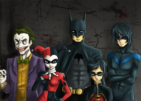 batman 'n' friends by Detkef