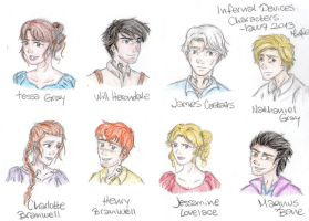 TID Characters by lauu7