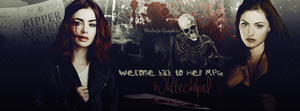 Whitechapel : Welcome back to Hell RPG (cover) by AkilajoGraphic