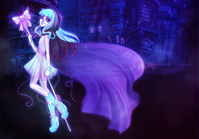 Drawlloween 2015: River Styxx wallpaper by LibeRitee