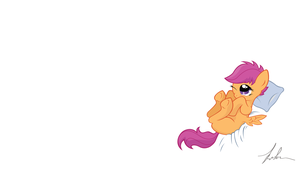 Scootaloo by Wreky