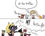 He's MY brother by Missplayer30