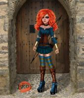 Merida - Brave by kharis-art