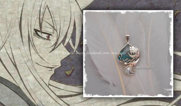 'Kamisama Kiss' handmade sterling silver pendant by seralune