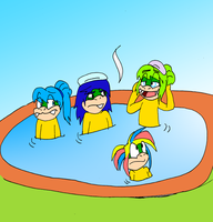 Hot springs with few koopalings by Aso-Designer