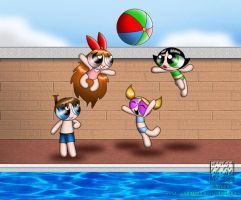 PPG: Hanging out at the Pool by Raingrass