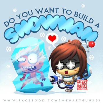 Mei - do you want to build a snowman? by Wenart
