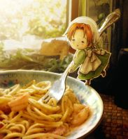 Pasta Amore by auxeru