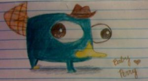 Baby Agent Perry by Phineaddict