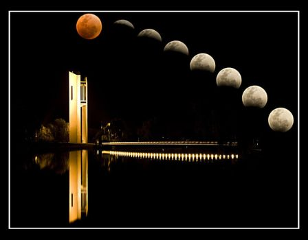 Timelapse Lunar Eclipse by JST69