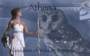 The Goddess Athena: Wallpaper by jediprincess