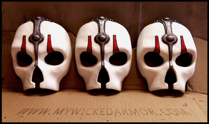 Darth Nihilus Masks by charfade