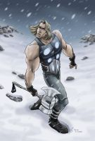 Steven E. Gordon - Thor by djinn-world