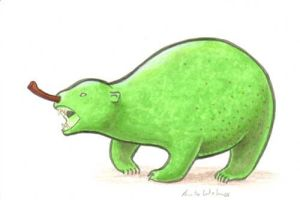 Pear Bear by ankewehner