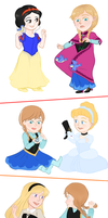 Frozen Princess Countdown by Coralic