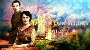 Wallpaper: Mary and Matthew of Downton Abbey by PharMafia-Soldier