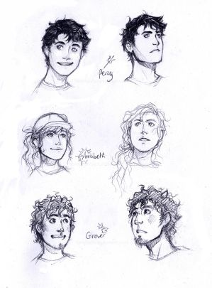 PJO sketches