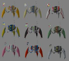 Drone Pod Colour Concepts by Moemoore