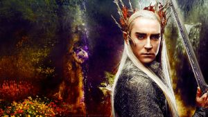 King of Mirkwood by VeilaKs