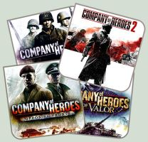 Company of Heroes YAIcon Pack by Alucryd