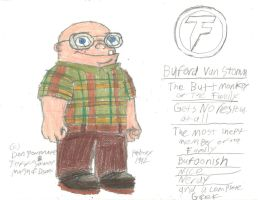 Buford Van Stomm of the Family by RedJoey1992