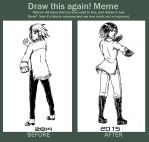 Inking test Before and After 2 by Green-Fighter
