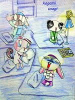 happy pets bed time story by Kagami-Usagi