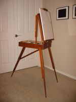Easel 1 by GreenEyezz-stock