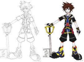 Sora and Sora by anime-palace-ping