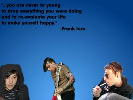 Frank Iero Wallpaper by FromLoveToDeath